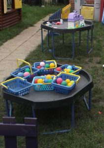 Pyhsical Development at Elm Park baptist Church Playgroup / Preschool