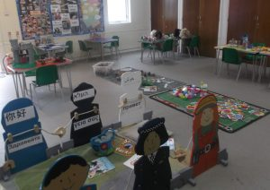 Hall view at Elm Park baptist Church Playgroup / Preschool